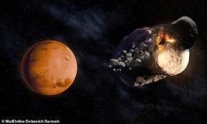 منشا قمرهای مریخ مشخص شد