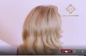 آموزش شنیون باز موهای بلند