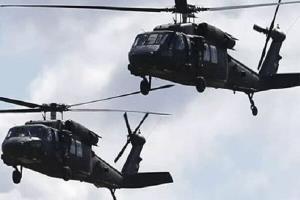 سانا: آمریکا دو بالگرد حامل مهمات برای گروه های مسلح در سوریه فرستاد
