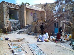 آسیب برخی منازل سی سخت در زلزله ۴.۵ ریشتری امروز