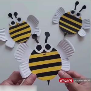 آموزش ساخت کندو زنبور از وسایل بازیافتی