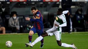 لالیگا/ پیروزی پرگل بارسلونا با درخشش مسی