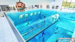 عمیقترین استخر جهان، شنا تا هسته زمین!