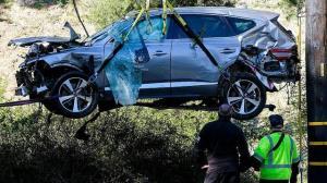 آخرین وضعیت تایگر وودز بعد از تصادف شدید