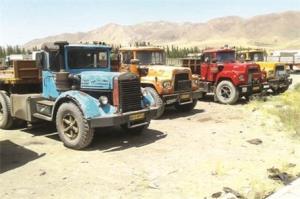 تردد ۵۵ هزار کامیون فرسوده در جادههای ایران