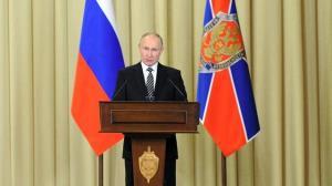 پوتین: جنگ علیه تروریسم حتی در جبهههای دور نظیر سوریه ادامه دارد