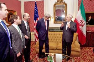 ادعایی درباره دیدار ظریف با کری دور از چشم ترامپ