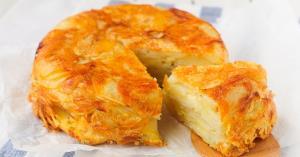 خوشمزه ترین نهار راحت و لذیذ «کیک گوشت و سیب زمینی»