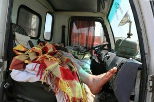راننده کامیون، قربانی قاتل خاموش
