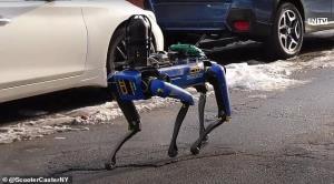 سگ رباتیک در گرفتن گروگانگیرها به پلیس کمک میکند