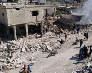 انفجار بمب در عفرین سوریه