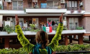 آواز همدلی مردم ایتالیا از قرنطینه