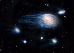 کهکشانهایی که