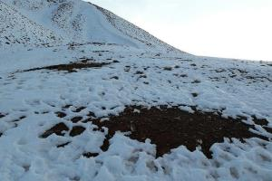 کاهش ذخایر برف نسبت به ۱۴ سال اخیر