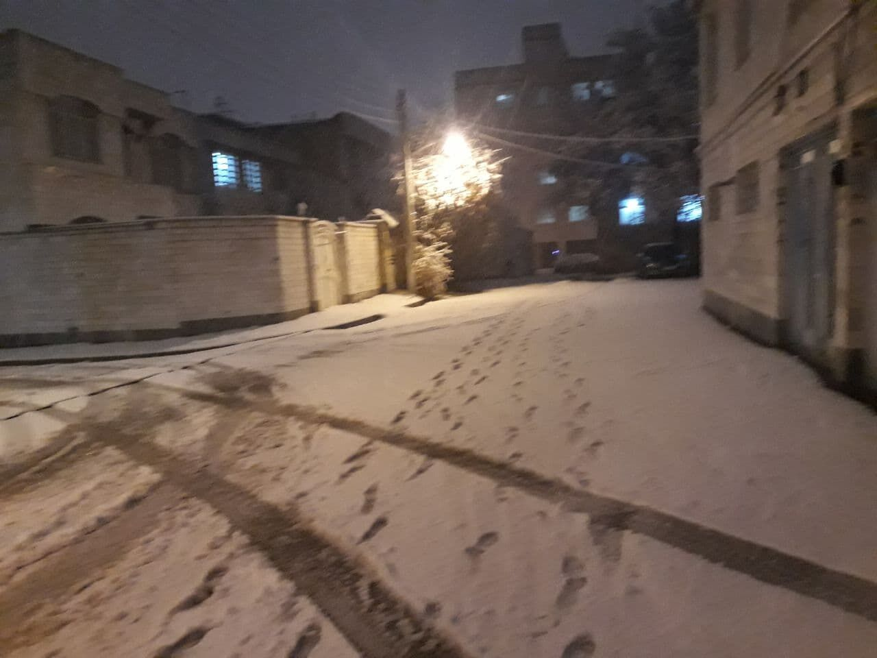 برف و سرما استان اردبیل را دربرگرفت