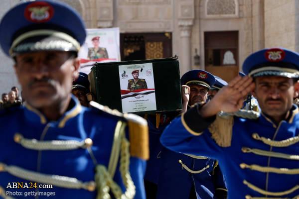 تشییع پیکر شهدای یمن