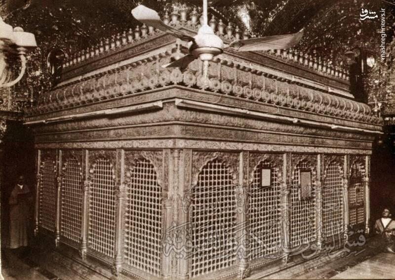 تصاویری قدیمی از حرم مطهر حضرت علی(ع)