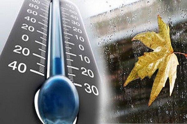 کاهش دمای هوا و بارش و برف و باران در کرمانشاه