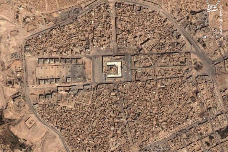 تصویر هوایی از شهر نجف اشرف