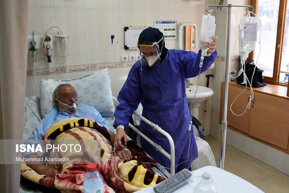 عکس/ بیمارستان عیسی بن مریم اصفهان در یک سالگی کرونا