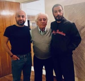 چهره ها/ تبریک ویژه نوید محمد زاده به پدرش