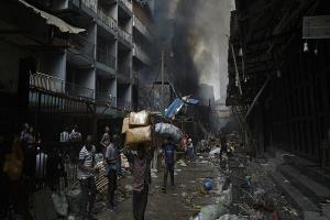 ۳۶ کشته و دهها زخمی در نیجریه؛ مهاجمان خانهها را سوزاندند