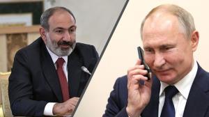 پوتین خواستار برقراری نظم و آرامش در ارمنستان شد