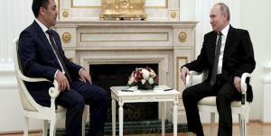 دیدار پوتین با رئیسجمهور قرقیزستان