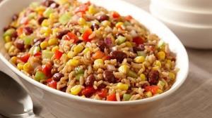 طرز تهیه پلو سبزیجات با لوبیا قرمز؛ خوش عطر و لذیذ