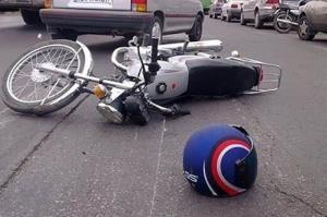تصاویر دلخراش از تصادفات موتور سیکلت ها