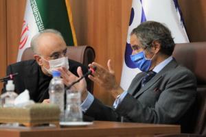 نظر گروسی در مورد توافق موقت آژانس با ایران