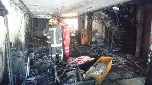 آتشسوزی کارگاه چوب و امدیاف در کوی علوی اهواز