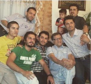 چهره ها/ آقایان غزالی در روز پدر