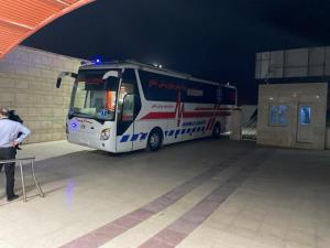 انتقال بیش از ۱۰۰ بیمار کرونایی از طریق اتوبوسآمبولانس در اهواز
