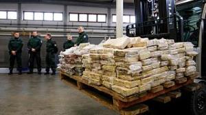 کشف بزرگترین محموله کوکائین در اروپا