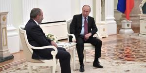 پوتین نگران تحولات ارمنستان شد