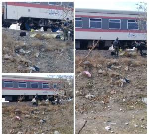 مرگ مرد میانسال روی ریل قطار