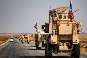 دو کاروان لجستیک نظامیان آمریکا در عراق هدف قرار گرفت