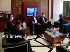 جزئیات دیدار خطیبزاده با مشاور ارشد رئیس جمهور سوریه