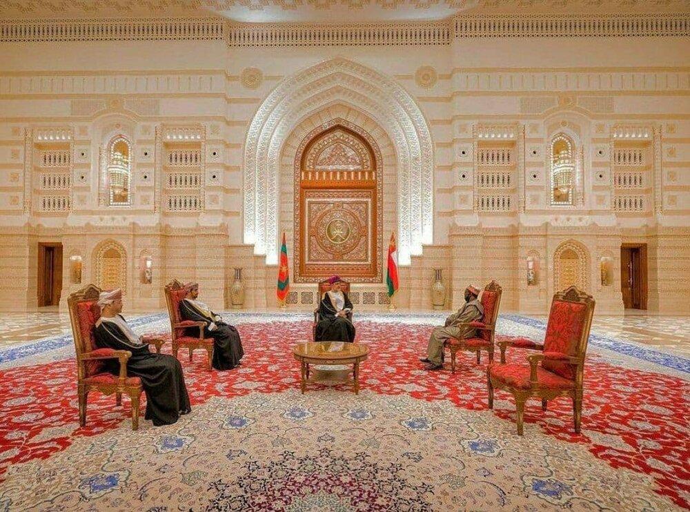عظمت و زیبایی فرش ایرانی در کاخ اصلی سلطان عمان