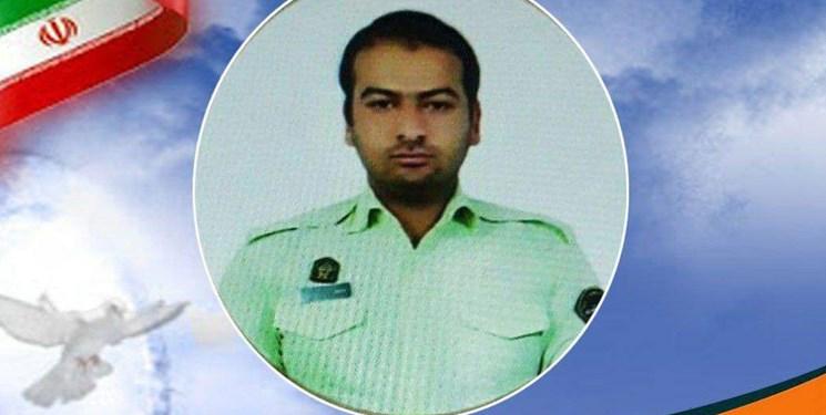 شهادت افسر نیروی انتظامی اهل فاروج در درگیریهای کورین زاهدان