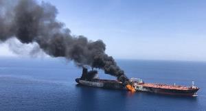 کشتی آسیبدیده در دریای عمان متعلق به رژیم صهیونیستی است