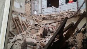 مرگ تلخ مرد میانسال زیر آوار ساختمان متروکه