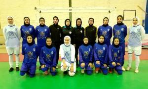 تیم فوتسال بانوان اسفراین برابر رهیاب تهران مساوی کرد