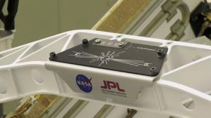 اولین تصویر منتشر شده از 11 میلیون اسمی که در مریخ نورد استقامت حک شد