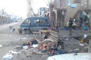 ۴ نیروی امنیتی افغانستان بر اثر انفجار بمب کُشته شدند