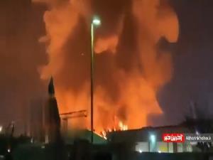 آتشسوزی گسترده در کالیفرنیای آمریکا