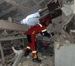 3 مصدوم حاصل انفجار گاز در منزل مسکونی