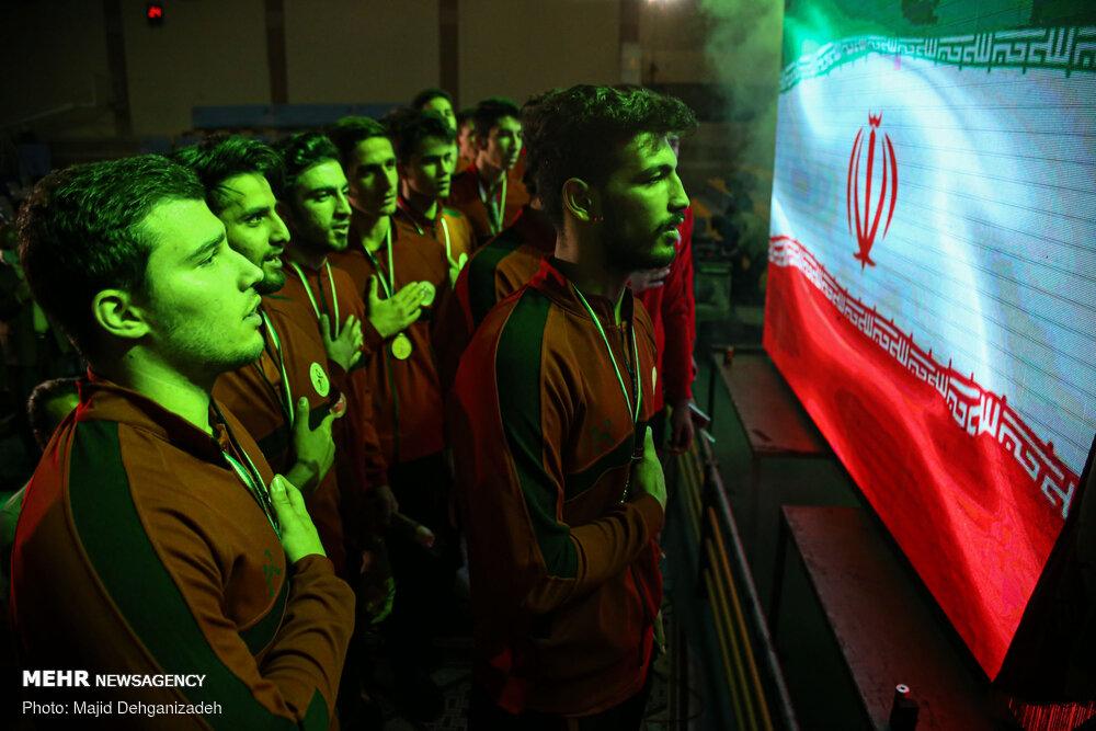 اختتامیه اولین دوره مسابقات هندبال