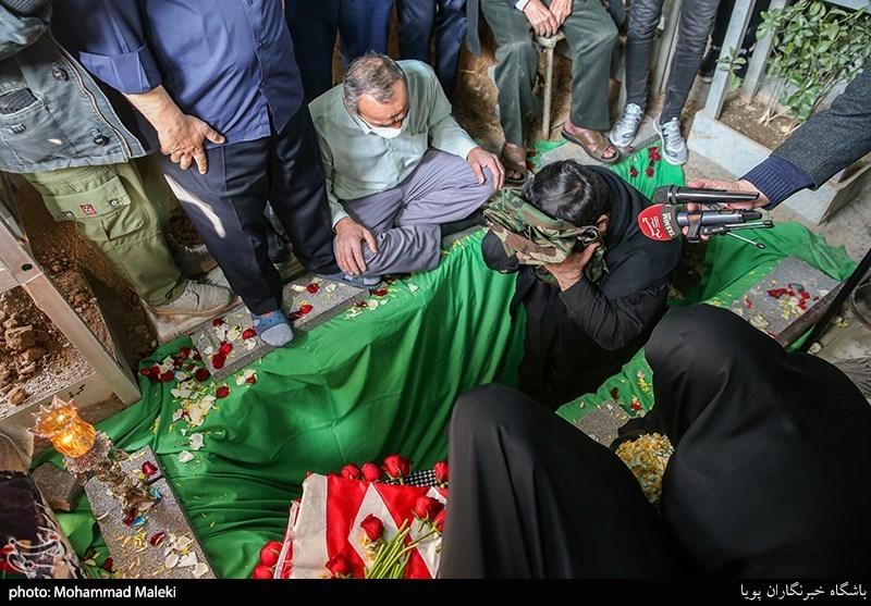 یادبود شهید مدافع حرم اسماعیل عزیزانی
